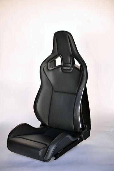 Recaro Japan SPORTSTER LL 100 H SE Reclinable Seat - Black,Black,Silver,Black-R-SS-LL-BBSB - Rzcrewgarage