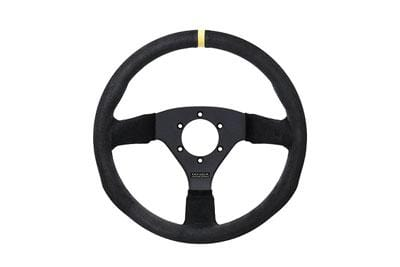 Juran - Racing Steering Wheels - 3 Spokes Suede-350770 - RZCrewGarage