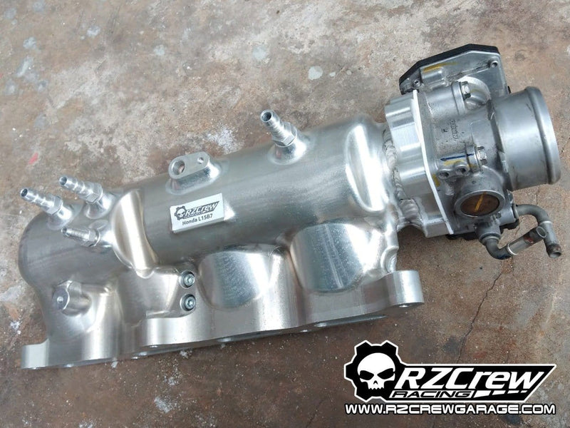 Rzcrew Racing - Billet Airstream Intake Manifold - Honda - Civic Sedan FC1