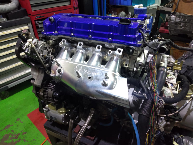 Rzcrew Racing - Billet Airstream Intake Manifold - Mitsubishi - Lancer Evolution X CZ4A