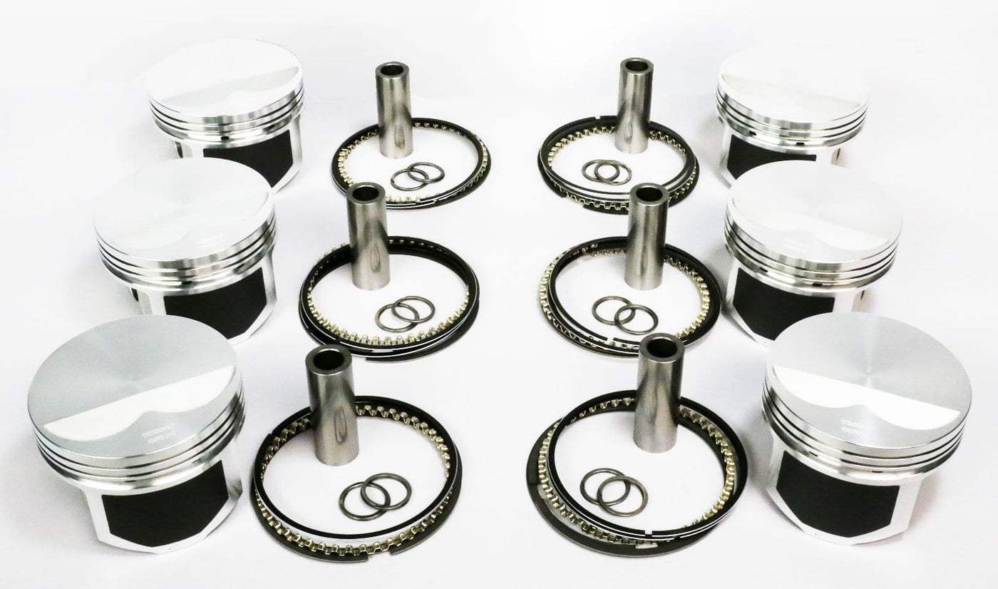Wiseco Pistons Kit - 11 0:1Cr - 85mm Bore - BMW - 2 5L 24V Turbo (M50B25)