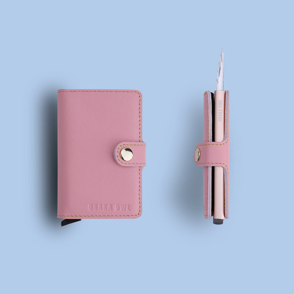 2019 Spring Limited Edition Genuine Leather Minimalist Card Wallet