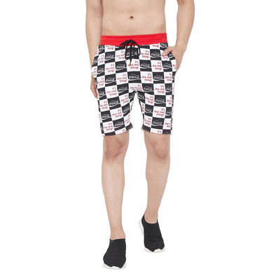 Cocacola Checkered Taped Shorts