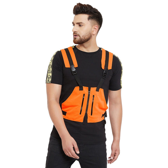 Neon Orange Scuba Tactical Jacket