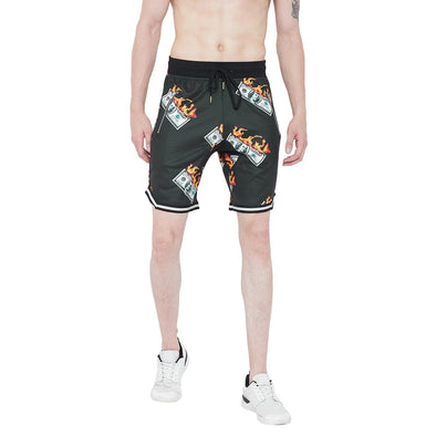 Dollar Mesh BasketBall Shorts Shorts - Fugazee