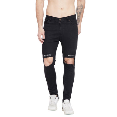 SAINT SINNER DESTROYED DENIM Jeans - Fugazee