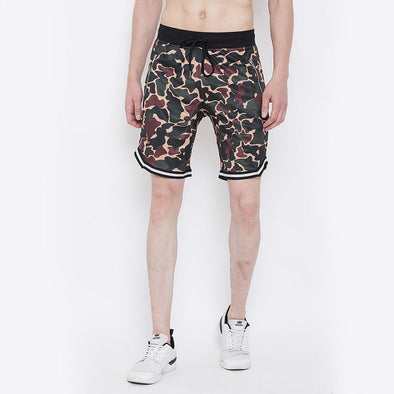 Camo Mesh BasketBall Shorts