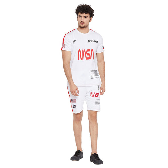 White Nasa Base Layer Combo Summer Suit Suits - Fugazee