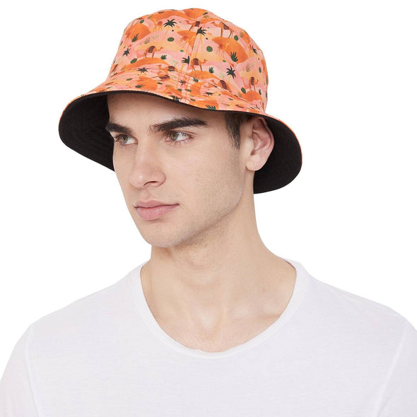 Urban Desert Printed Reversible Bucket Hat