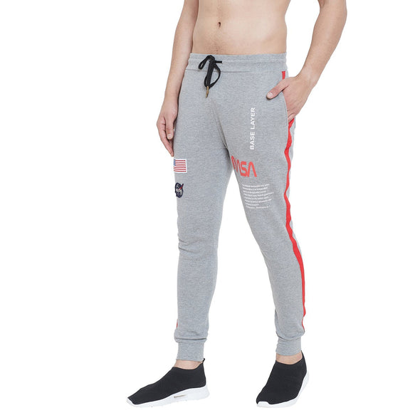 Grey NASA Space Joggers Joggers - Fugazee