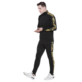 Black Venetian Combo JogSuit Suits - Fugazee