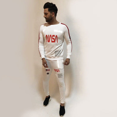 White Nasa Space Tracksuit