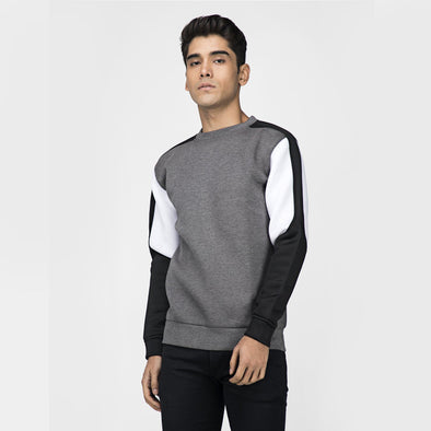 Neoprene Cut and Sew Sweatshirt