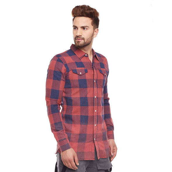 Amber Washed Check Shirt Shirts - Fugazee