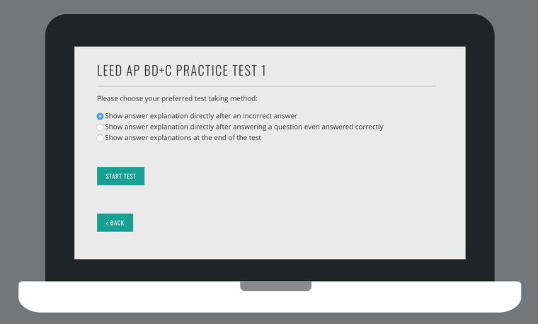 LEED AP BD+C V4 Exam Online Practice Tests | LEED AP BD+C Practice Exams 1