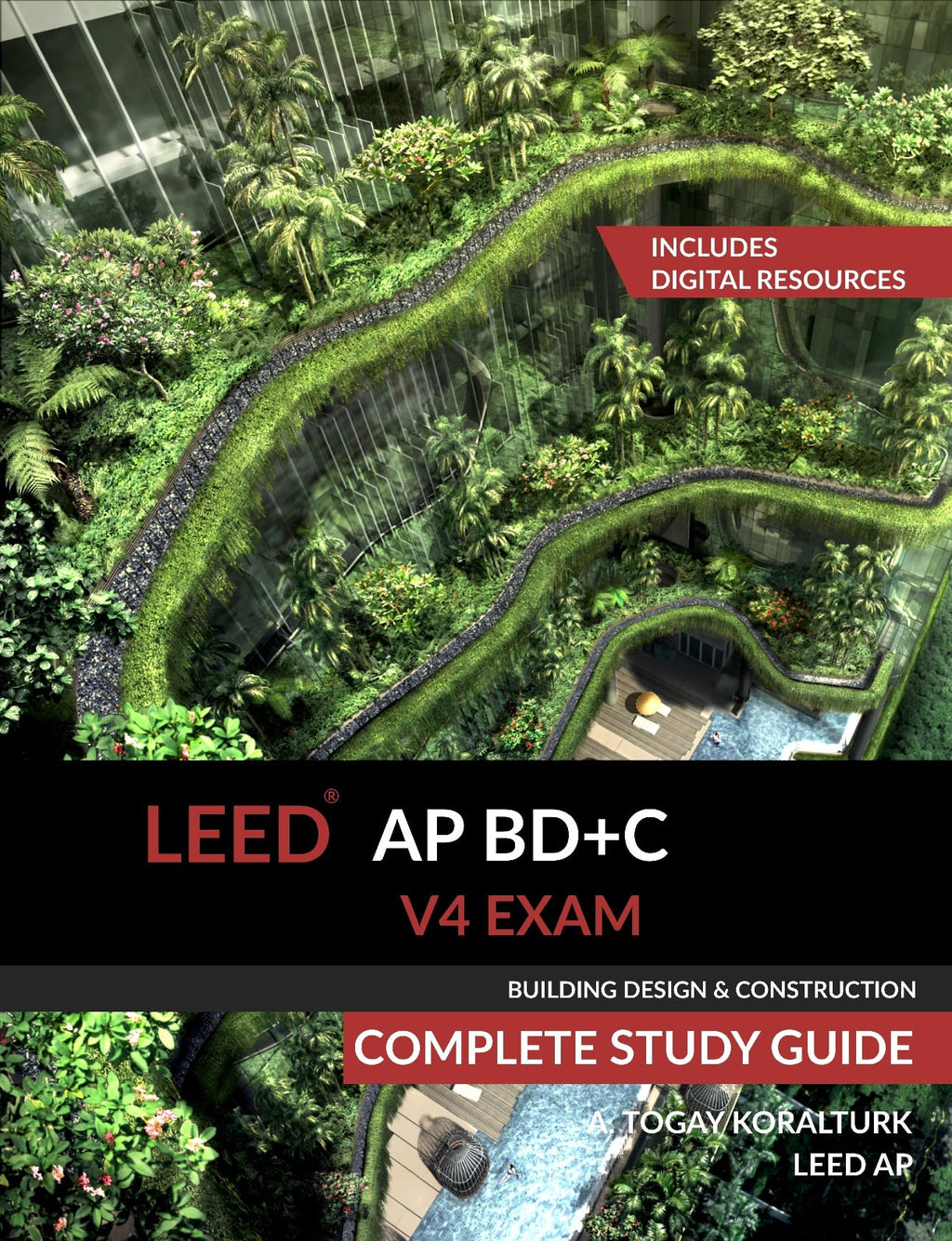 LEED AP BD+C Exam Study Guide Front Cover