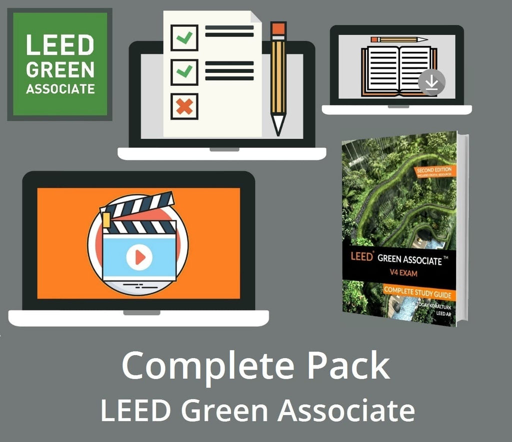 LEED Green Associate V4 Exam Complete Pack - LEED Green Associate Exam Preparation Tools - LEED Green Associate Exam Training
