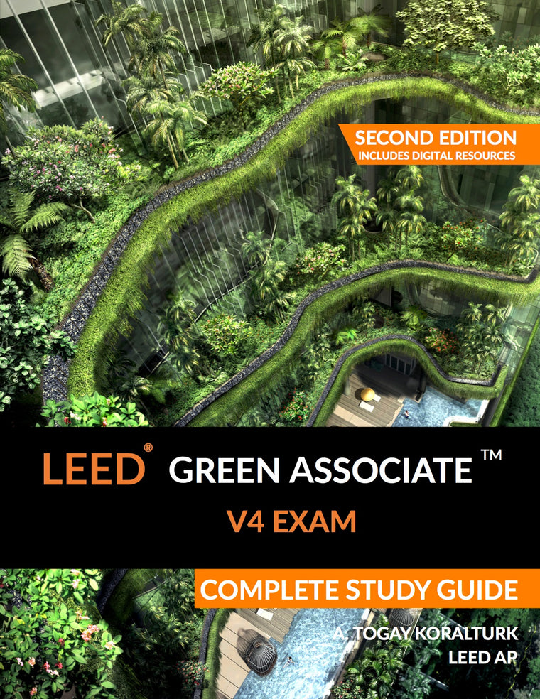 LEED Green Associate Study Guide Front Cover