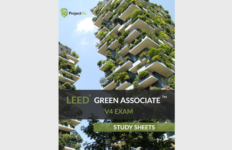 LEED Green Associate V4 Exam Study Sheets | LEED GA Study Sheets 1