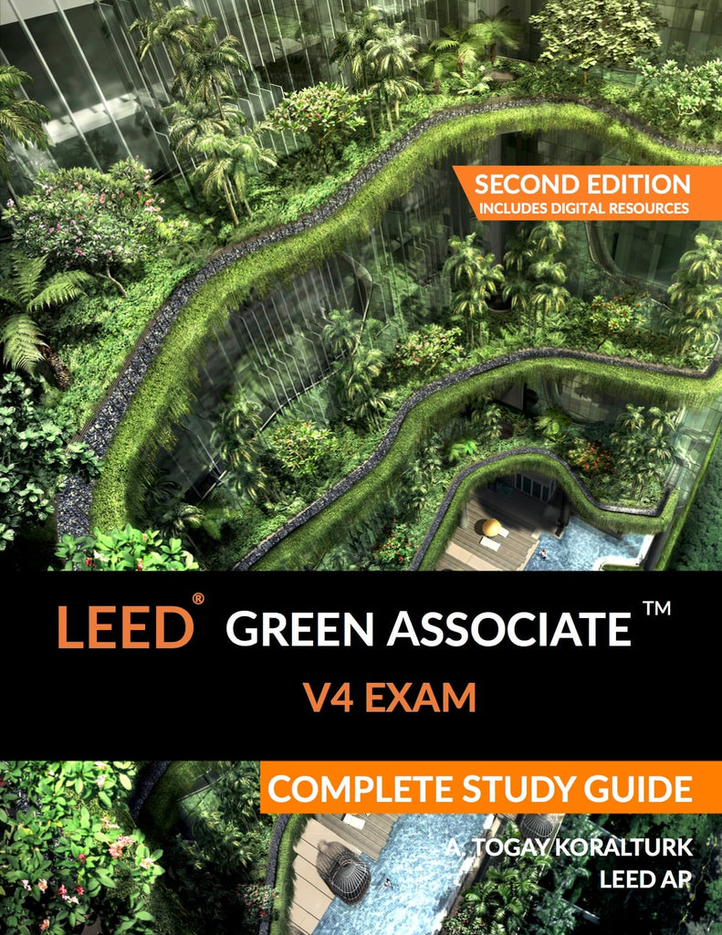 LEED Green Associate Study Guide Cover (LEED GA)