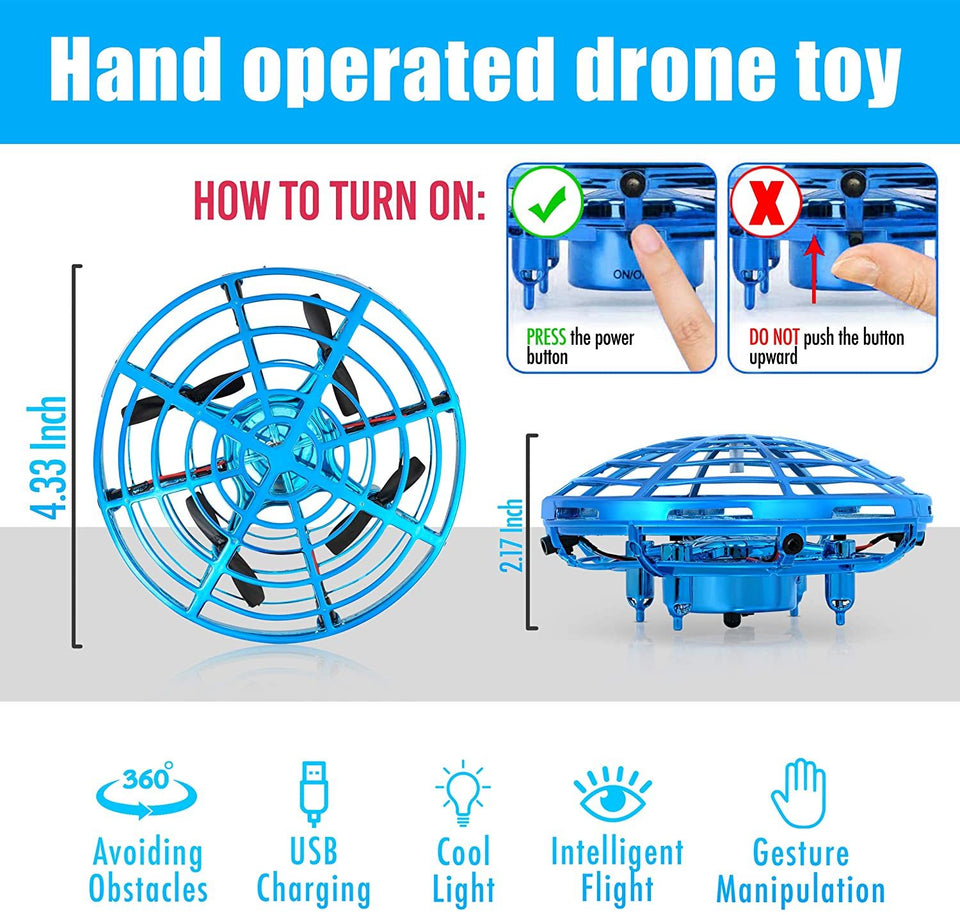 Hand Gesture Mini UFO Drone Toy
