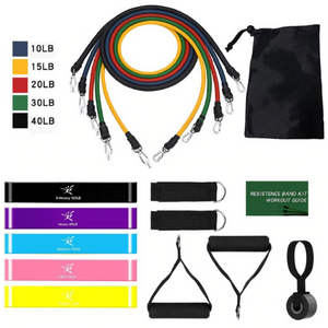 Resibands™ 17PC Resistance Band Set