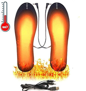 Rechargeable Electric Heated Insoles With Remote Control