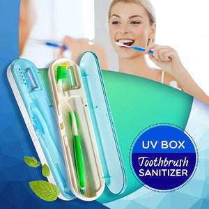 UV Travel Toothbrush Case Santiizer