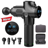 Portable Electric Massager Therapy Gun w/ LED Display