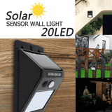Motion Sensor Solar LED Light
