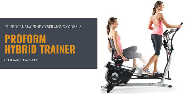 Elliptical machine cyber Monday deals