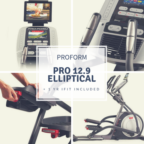 PROFORM PRO 12.9 ELLIPTICAL + 1 yr ifit Included