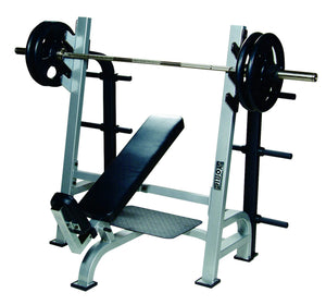 STS Olympic Incline Bench Press w/ Gun Racks
