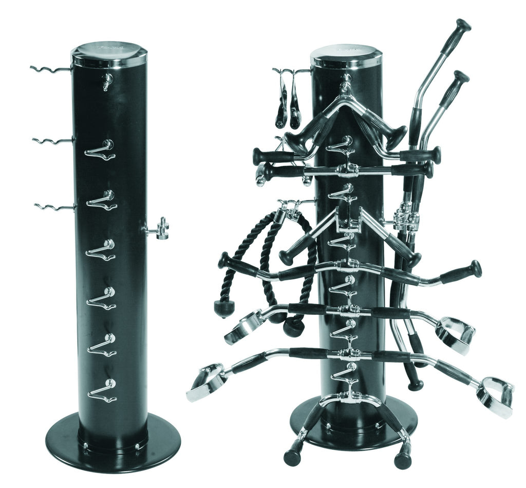 Vertical Machine Bar Rack - Black    (Holds 36169 - 15 pc Machine Bar Set not included)
