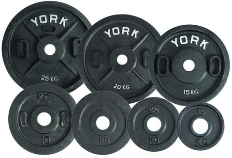 Image of York Barbell Uncalibrated Standard Kilo Olympic Plate