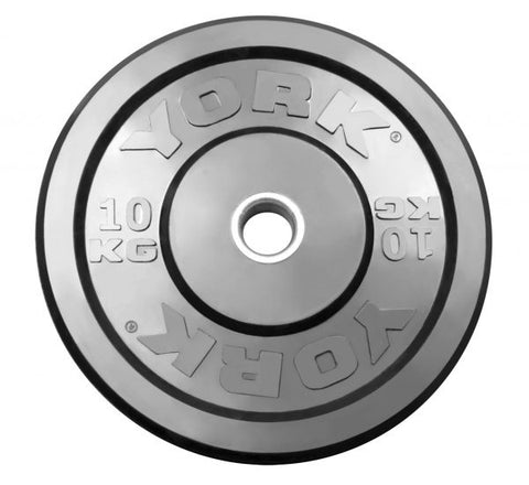 York Barbell USA Training Bumper - Black