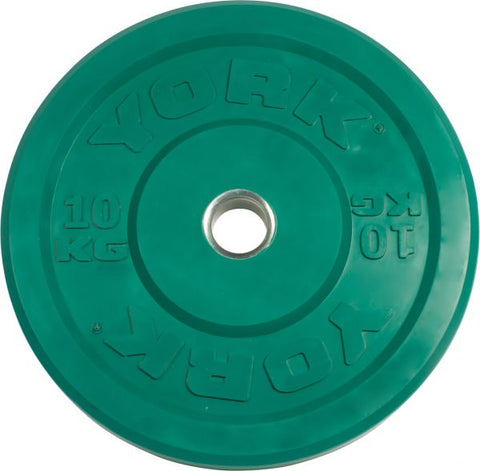 Image of York Barbell USA 10-25 kg Rubber Training Bumper Plate