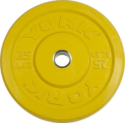 Image of York Barbell USA 10-45 lb Rubber Training Bumper Plate