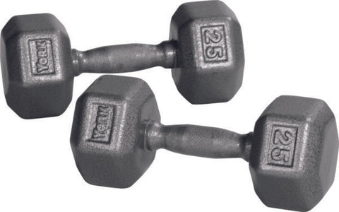 Image of York Barbell Pro Hex Dumbbell