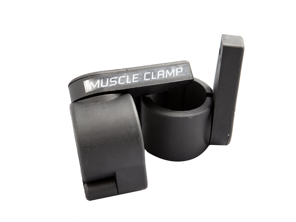 York Barbell Muscle Clamp Collars - Black - Pair