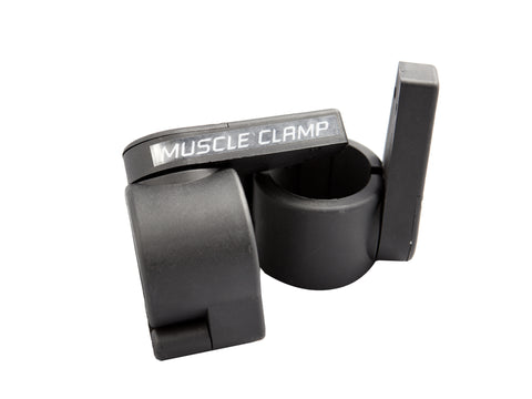 Image of York Barbell Muscle Clamp Collars - Black - Pair