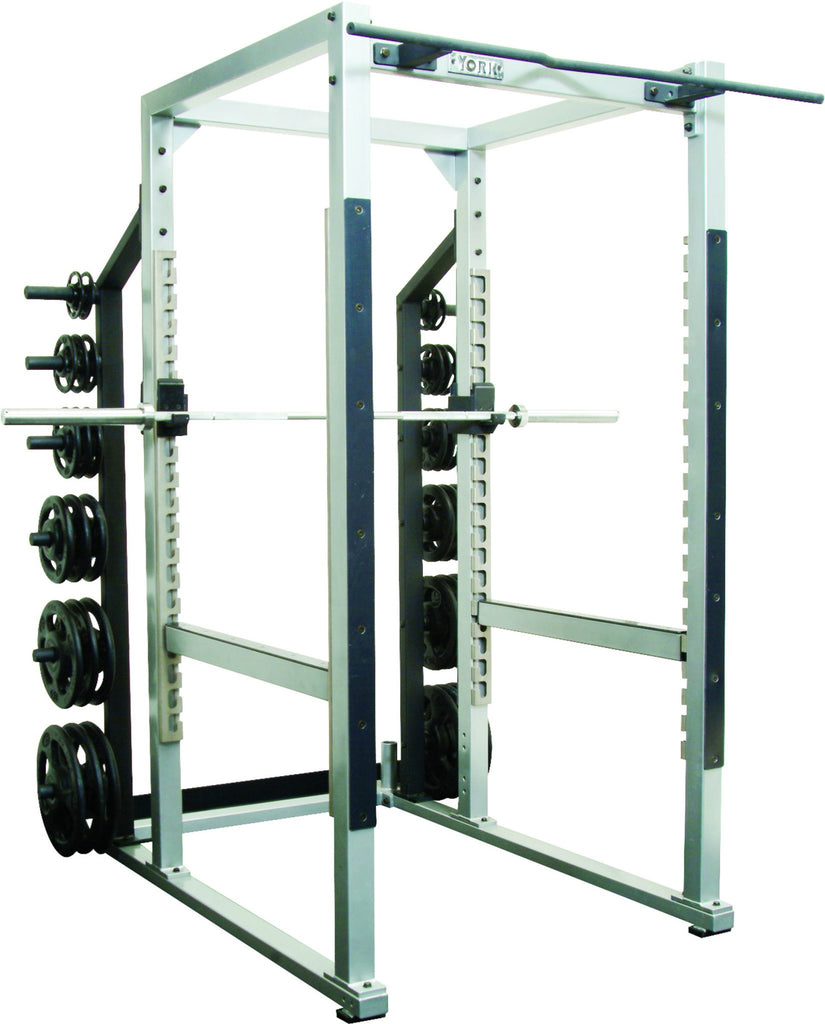 "York Barbell ST POWER RACK w/ HOOK PLATES - 40"" WIDTH"