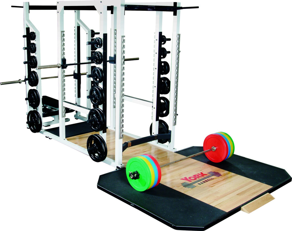 York Barbell STS Triple Combo Rack