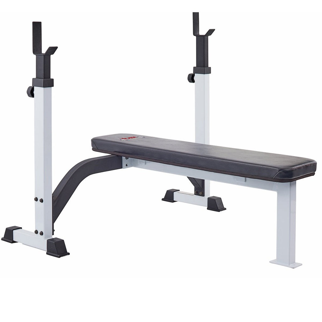 FTS Olympic Fixed Flat Bench w/ Uprights