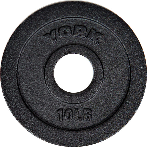 "York Barbell 2"" Cast Iron Olympic Plate"