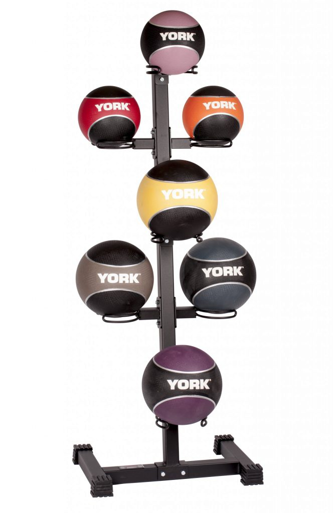 Medicine Ball Storage Rack – 7 ball – Vertical