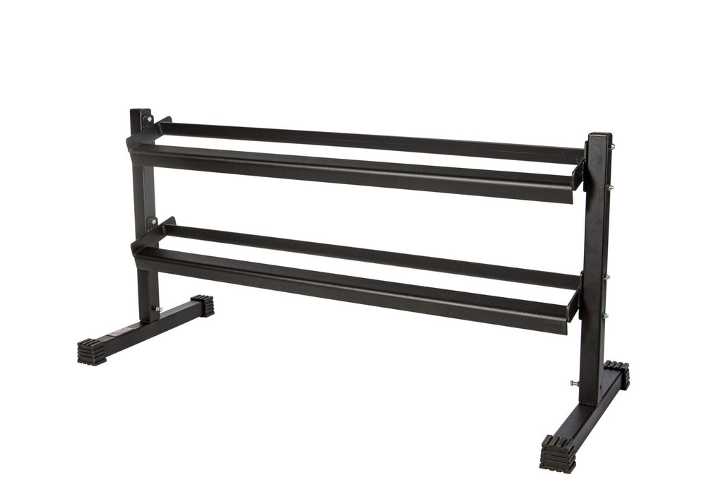 "YORK 8000 2 Tier Dumbbell Stand 48"" Wide Design"