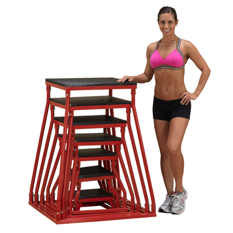 Body Solid Plyometric Strengthening  Boxes