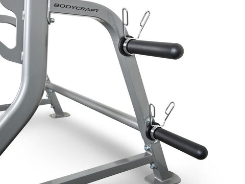 Image of BodyCraft F460 Half Squat Rack with Bar & Plate Storage for Free Weights