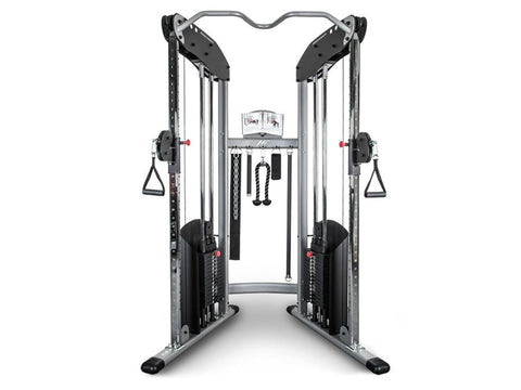 Image of BodyCraft HFT Functional Trainer, 2x150lb Stacks w/ Free 55cm Stability Ball